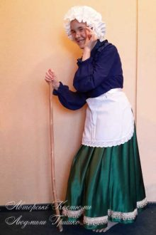 карнавальный костюм бабушки красной шапочки фото