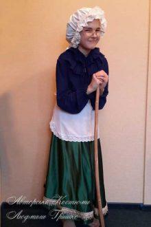 авторский детский костюм бабушки красной шапочки фото