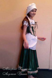 авторский карнавальный костюм мамы красной шапочки для девочки фото