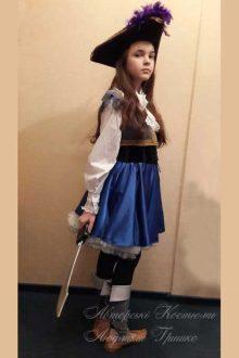пиратский костюм фото карнавального костюма для девочки