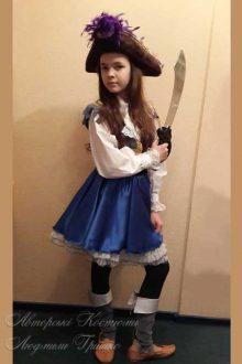 пиратский костюм фото детского костюма для девочки