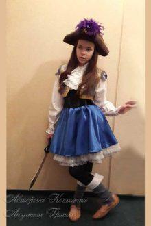 пиратский костюм фото новогоднего костюма для девочки