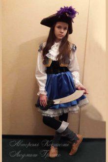 пиратский костюм фото маскарадного костюма для девочки