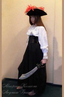 костюм разбойницы для девочки на новый год фото