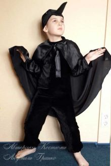 фото детский костюм ворона