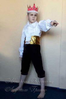 детский костюм короля фото