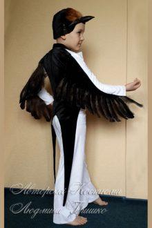 авторский карнавальный костюм ласточки для мальчика фото