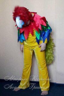 костюм попугая фото шапочки с клювом