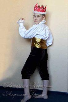костюм короля фото вид сбоку