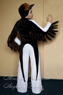 костюм ласточки для мальчика фото вид со спины