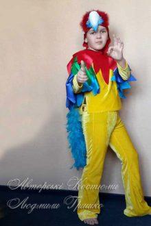 авторский костюм попугая фото