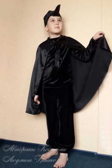 костюм ворона для мальчика фото