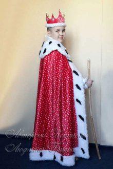 королевская мантия фото вид сбоку