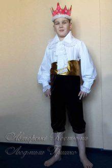 авторский карнавальный костюм короля фото