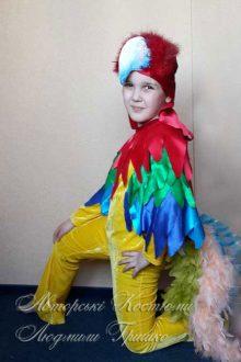 костюм попугая фото