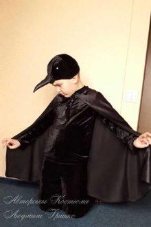 костюм ворона фото шапочки крупным планом