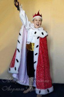 королевская мантия и карнавальный костюм короля фото