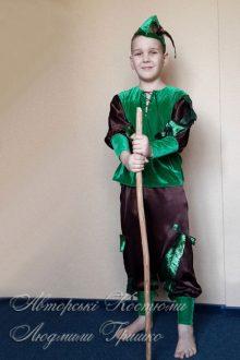 карнавальный авторский костюм охотника фото