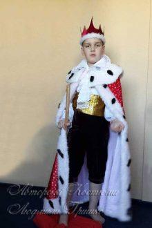 королевская мантия авторский карнавальный наряд фото