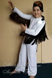 фото костюм ласточки для мальчика на новый год