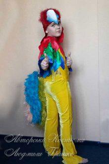 костюм попугая фото карнавального костюма на праздник осени