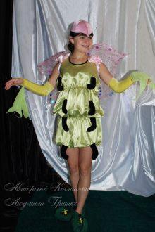 костюм бабочки фото в митенках с шифоном
