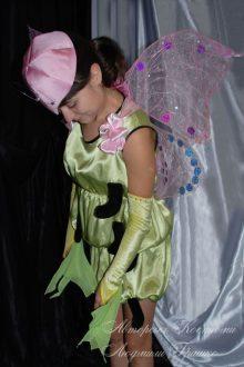 костюм бабочки фото вид сбоку