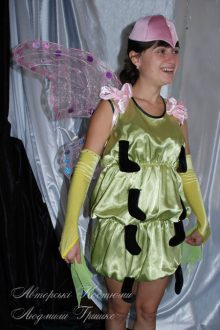 костюм бабочки фото с розовыми крыльями