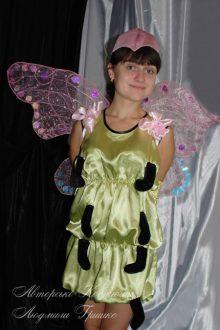 авторский карнавальный костюм бабочки фото