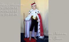королевская мантия для мальчика фото