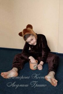 фото детский костюм медведя
