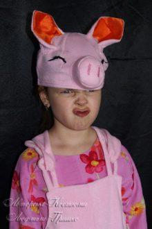 костюм поросенка фото шапочки