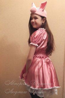 карнавальный костюм поросенка для девочки фото