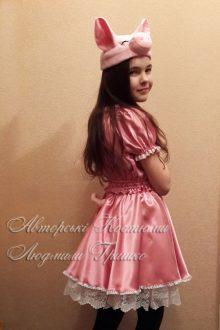 костюм поросенка для девочки фото вид сбоку