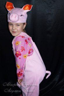 фото детского костюма поросенка
