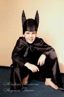детский костюм Бэтмена фото