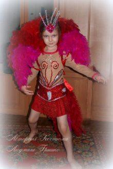 карнавальный бразильский костюм фото