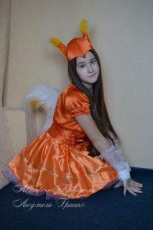 костюм белки для девочки фото 83