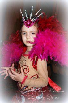 авторский бразильский костюм для девочки фото