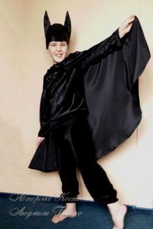 карнавальный костюм Бэтмена на halloween фото