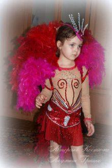 авторский карнавальный детский бразильский костюм фото