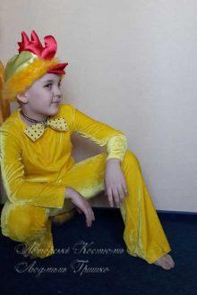 костюм цыпленка для мальчика фото