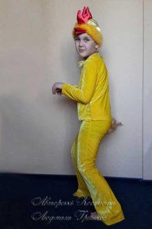 детский костюм цыпленка фото