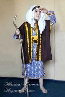 авторский костюм пастуха для библейского вертепа фото