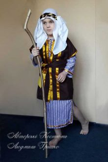 новогодний костюм пастуха для мальчика фото