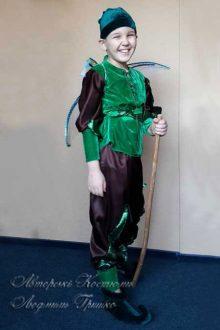 авторский костюм эльфа для мальчика фото с крыльями стрекозы