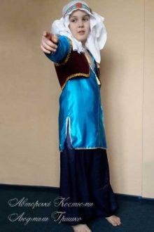 восточный костюм Алладина фото