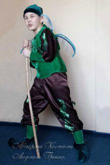 карнавальный костюм эльфа для мальчика фото с крыльями стрекозы