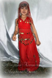 костюм восточной принцессы детский карнавальный фото