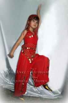 детский костюм восточной принцессы фото